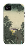 Okabe, from the Fifty-Three Station of the Tokaido Road iPhone 4/4S Case by Ando Hiroshige