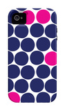 Pink Dots iPhone 4/4S Case by  Avalisa