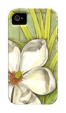 Sugar Magnolia II iPhone 4/4S Case by Jennifer Goldberger