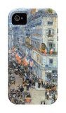 The 14th July, Rue Daunou iPhone 4/4S Case by Childe Hassam