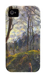 Landscape with Big Trees iPhone 4/4S Case by Camille Pissarro