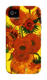 Still Life Vase with Fifteen Sunflowers iPhone 4/4S Case