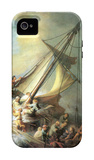 Christ in a Storm on the Sea of Galilee iPhone 4/4S Case by  Rembrandt van Rijn