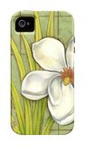 Sugar Magnolia I iPhone 4/4S Case by Jennifer Goldberger