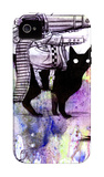 Super Cat iPhone 4/4S Case by Lora Zombie