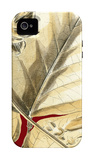 Red Background Tropical VI iPhone 4/4S Case