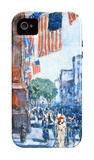 Flags, Fifth Avenue iPhone 4/4S Case by Childe Hassam