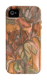 Woven Whimsey II iPhone 4/4S Case by Jennifer Goldberger