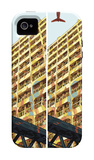 Yellow iPhone 4/4S Case by  HR-FM