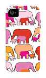 Warm Elephants iPhone 4/4S Case by  Avalisa