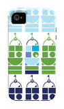 Blue Castle iPhone 4/4S Case by  Avalisa