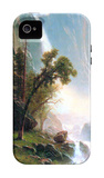 Yosemite Falls iPhone 4/4S Case by Albert Bierstadt