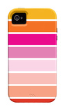 Warm Stripes iPhone 4/4S Case by  Avalisa