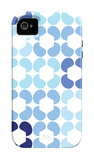 Blue Quilt iPhone 4/4S Case by  Avalisa