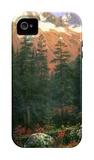 Canadian Rockies iPhone 4/4S Case by Albert Bierstadt