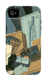 Sheet of Music iPhone 4/4S Case by Juan Gris