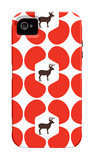 Red Deer Hoof iPhone 4/4S Case by  Avalisa