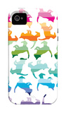 Sunset Kittens iPhone 4/4S Case por Avalisa