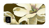 Magnolia on Taupe I iPhone 4/4S Case