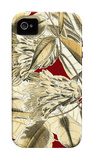 Red Background Tropical I iPhone 4/4S Case