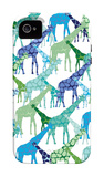 Cool Giraffe Pattern iPhone 4/4S Case by  Avalisa