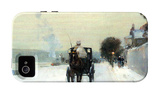 Along the Seine, Winter iPhone 4/4S Case by Childe Hassam