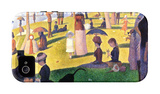 A Sunday on La Grande Jatte 1884, 1884-86 iPhone 4/4S Case by Georges Seurat