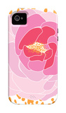Pink Peony iPhone 4/4S Case by  Avalisa