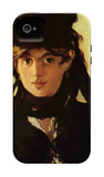 Berthe Morisot iPhone 4/4S Case by Édouard Manet