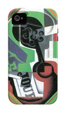 Whistle and Fruit Bowl of Grapes iPhone 4/4S Case by Juan Gris