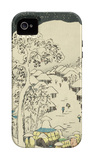 Fujikawa, from the Fifty-Three Station of the Tokaido Road iPhone 4/4S Case by Ando Hiroshige