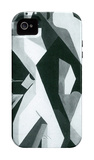 Harlequan with Stool iPhone 4/4S Case by Juan Gris