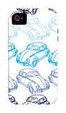 Blue Bug iPhone 4/4S Case by Avalisa