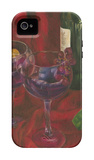 Wine Indulgences II iPhone 4/4S Case by Jennifer Goldberger