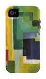 Colored Forms (II) iPhone 4/4S Case by August Macke