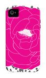 Fushia Peony iPhone 4/4S Case by  Avalisa