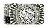 Mini Abstract Rosette III iPhone 4/4S Case by Chariklia Zarris