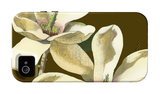 Magnolia on Taupe II iPhone 4/4S Case