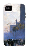 Lower Fifth Avenue iPhone 4/4S Case by Childe Hassam