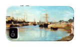 The Port of Lorient iPhone 4/4S Case by Berthe Morisot