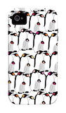 Warm Penguin Pattern iPhone 4/4S Case por Avalisa