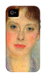 Portrait of Gertha Fersovanyi (Detail) iPhone 4/4S Case by Gustav Klimt