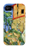 House with Walls iPhone 4/4S Case by Paul Cézanne
