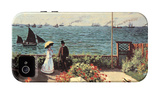 Garden at Sainte-Adresse iPhone 4/4S Case by Claude Monet