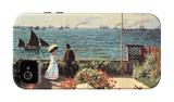 Garden at Sainte-Adresse iPhone 4/4S Case by Claude Monet