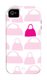 Pink Handbags iPhone 4/4S Case por Avalisa