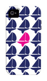 Navy Pink Regatta iPhone 4/4S Case by  Avalisa