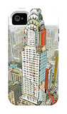 Manhattan iPhone 4/4S Case by HR-FM 