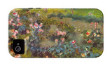 Rose Garden iPhone 4/4S Case by Pierre-Auguste Renoir