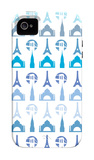 Blue Travel Architecture iPhone 4/4S Case by  Avalisa